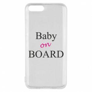 Etui na Xiaomi Mi6 Baby on board