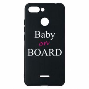 Etui na Xiaomi Redmi 6 Baby on board