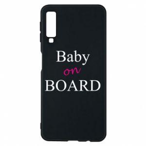 Etui na Samsung A7 2018 Baby on board