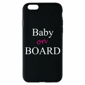 Etui na iPhone 6/6S Baby on board