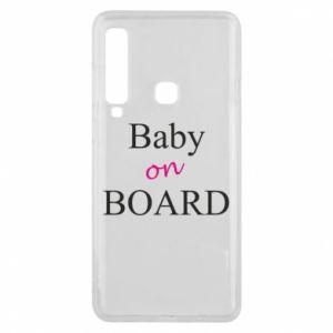 Etui na Samsung A9 2018 Baby on board