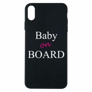 Etui na iPhone Xs Max Baby on board