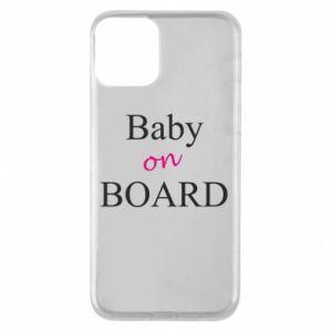 Etui na iPhone 11 Baby on board