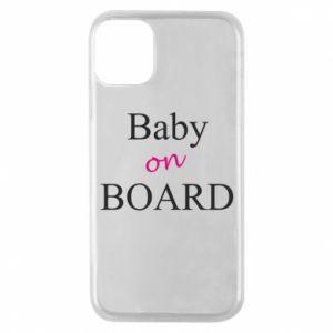 Etui na iPhone 11 Pro Baby on board