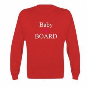 Bluza dziecięca Baby on board