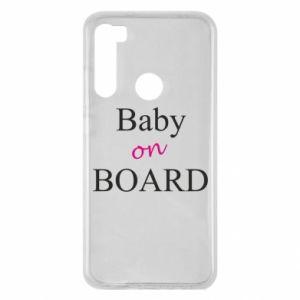 Etui na Xiaomi Redmi Note 8 Baby on board