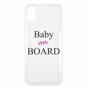 Etui na Xiaomi Redmi 9a Baby on board