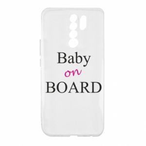 Etui na Xiaomi Redmi 9 Baby on board