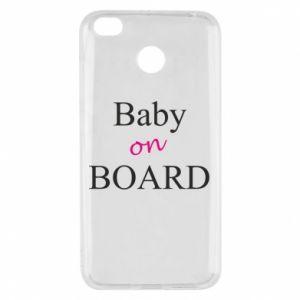 Etui na Xiaomi Redmi 4X Baby on board