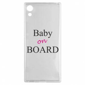 Etui na Sony Xperia XA1 Baby on board