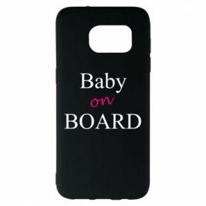 Etui na Samsung S7 EDGE Baby on board