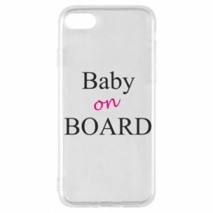 Etui na iPhone 7 Baby on board