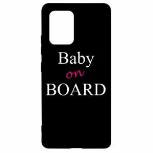 Etui na Samsung S10 Lite Baby on board