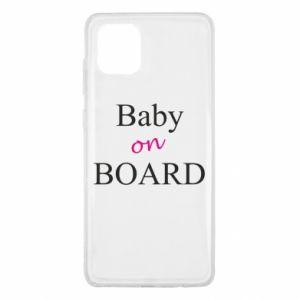 Etui na Samsung Note 10 Lite Baby on board
