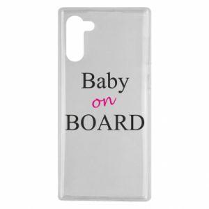Etui na Samsung Note 10 Baby on board