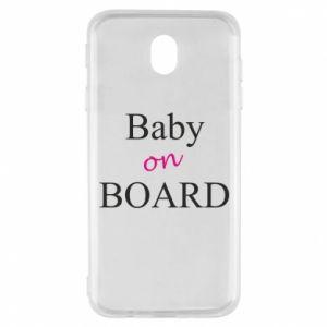 Etui na Samsung J7 2017 Baby on board