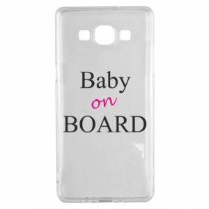 Etui na Samsung A5 2015 Baby on board