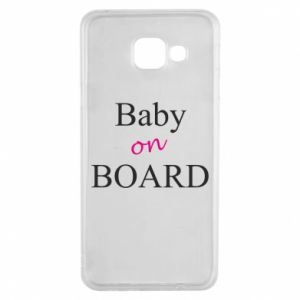 Etui na Samsung A3 2016 Baby on board