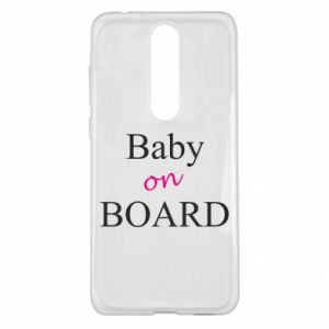 Etui na Nokia 5.1 Plus Baby on board