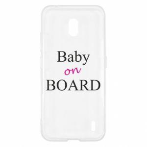Etui na Nokia 2.2 Baby on board