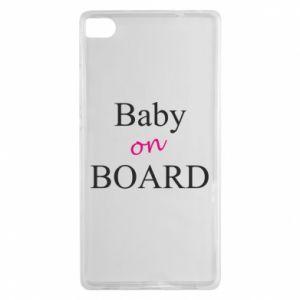 Etui na Huawei P8 Baby on board