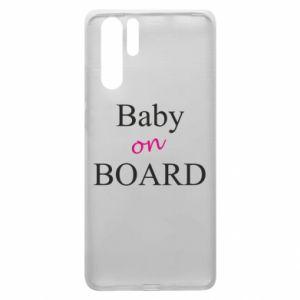 Etui na Huawei P30 Pro Baby on board