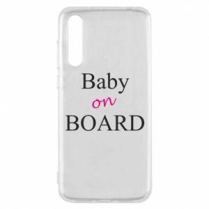 Etui na Huawei P20 Pro Baby on board