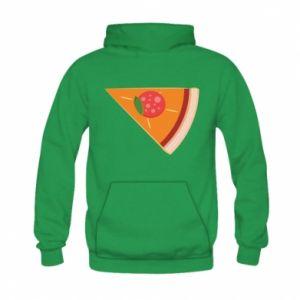 Bluza z kapturem dziecięca Baby pizza
