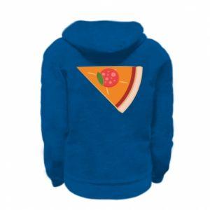 Bluza na zamek dziecięca Baby pizza