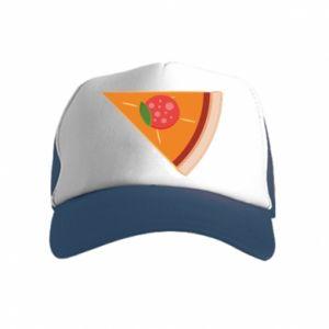 Czapka trucker dziecięca Baby pizza
