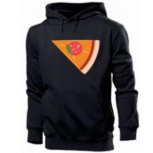 Men's hoodie Baby pizza