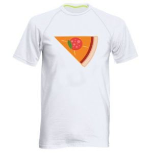 Men's sports t-shirt Baby pizza