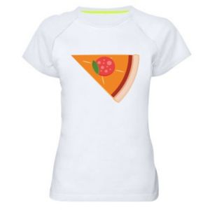 Women's sports t-shirt Baby pizza