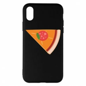Phone case for iPhone X/Xs Baby pizza - PrintSalon