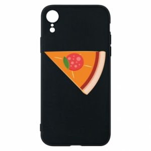 Phone case for iPhone XR Baby pizza - PrintSalon