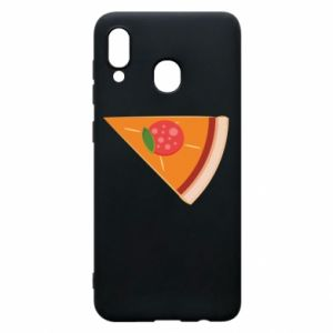 Phone case for Samsung A20 Baby pizza - PrintSalon