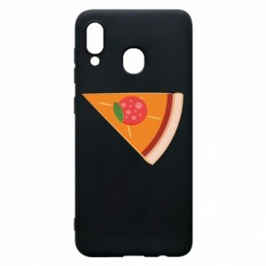 Phone case for Samsung A30 Baby pizza - PrintSalon
