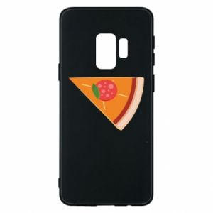 Phone case for Samsung S9 Baby pizza - PrintSalon