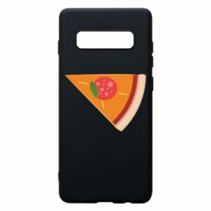 Phone case for Samsung S10+ Baby pizza - PrintSalon