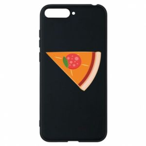 Phone case for Huawei Y6 2018 Baby pizza - PrintSalon