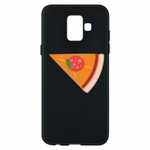 Phone case for Samsung A6 2018 Baby pizza - PrintSalon