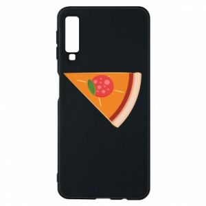 Phone case for Samsung A7 2018 Baby pizza - PrintSalon