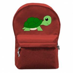 Plecak z przednią kieszenią Baby turtle
