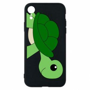Etui na iPhone XR Baby turtle