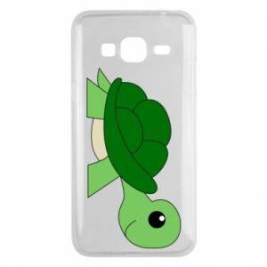 Etui na Samsung J3 2016 Baby turtle