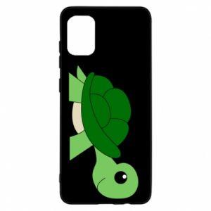 Etui na Samsung A31 Baby turtle