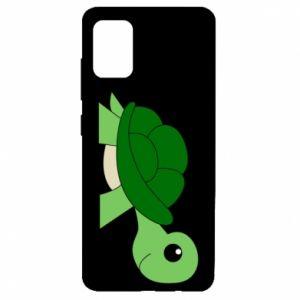Etui na Samsung A51 Baby turtle