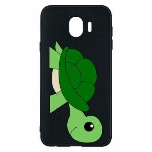 Etui na Samsung J4 Baby turtle