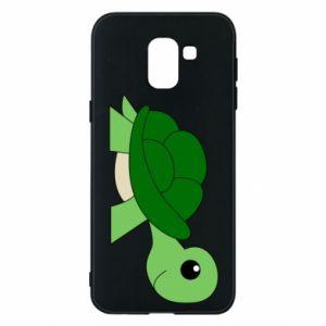 Etui na Samsung J6 Baby turtle