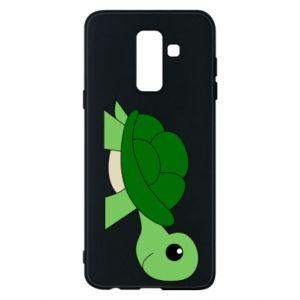 Etui na Samsung A6+ 2018 Baby turtle